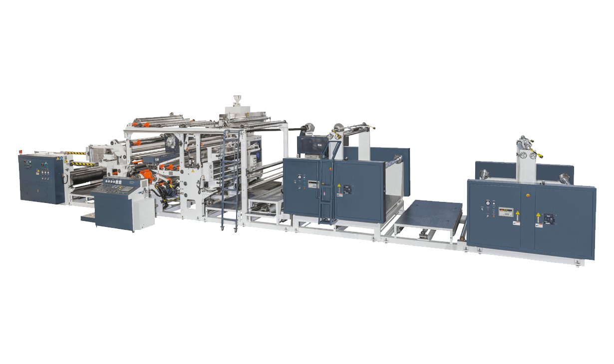 Sandwich Extrusion Lamination Machine