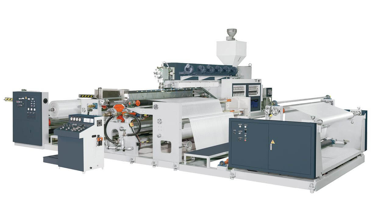 Single Side Extrusion Lamination Machine