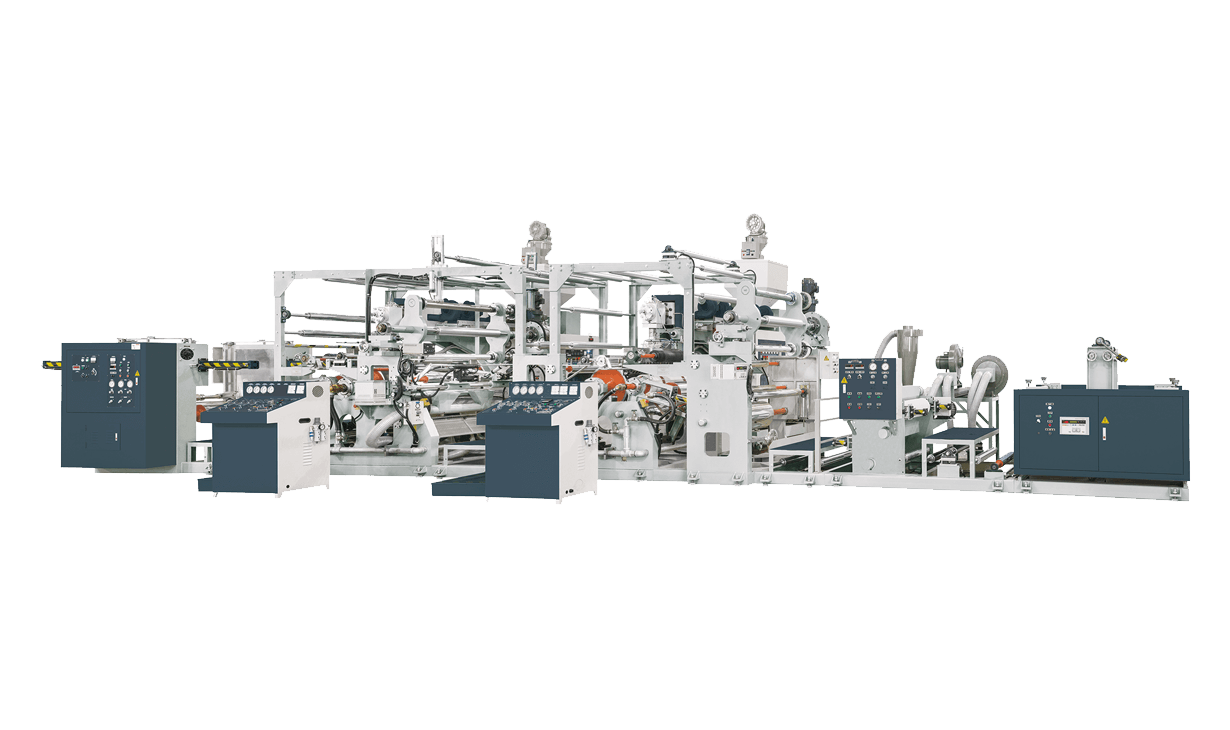 Tandem Extrusion Lamination Machine