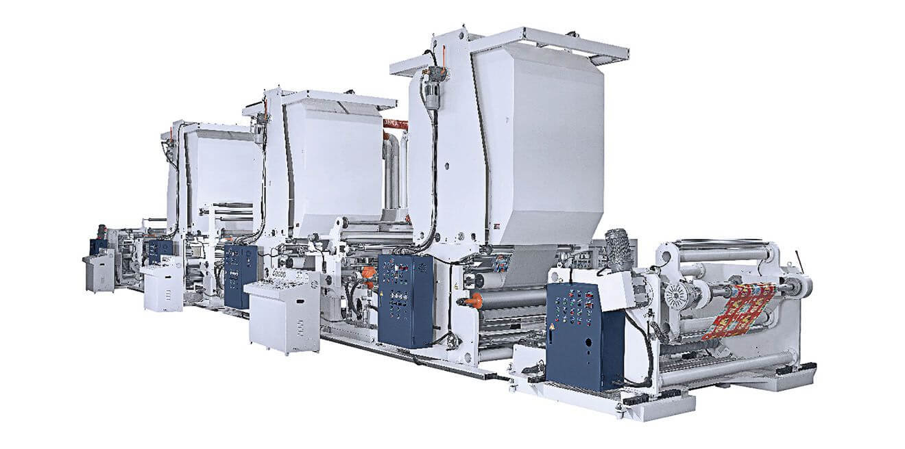 Triple Extruder Machine